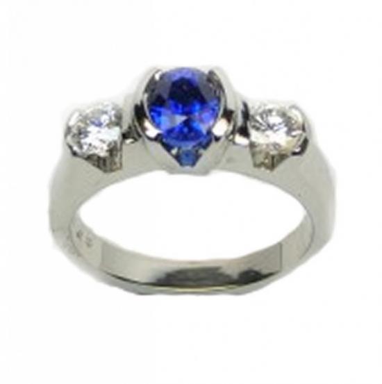 Sapphire and Diamond Half Bezel